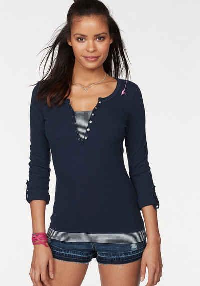 e84b9030356e 2-in-1 Shirts für Damen » Doppellagiges Shirt kaufen   OTTO