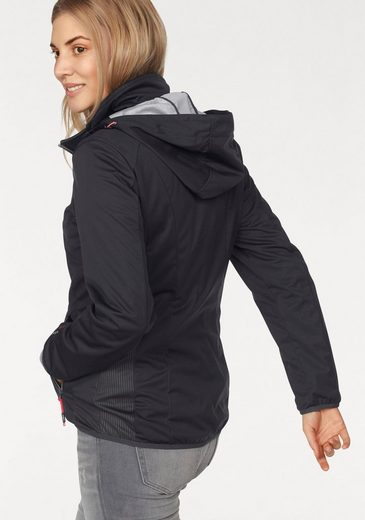 Cmp Softshell Jacket, With Waterproof Membrane