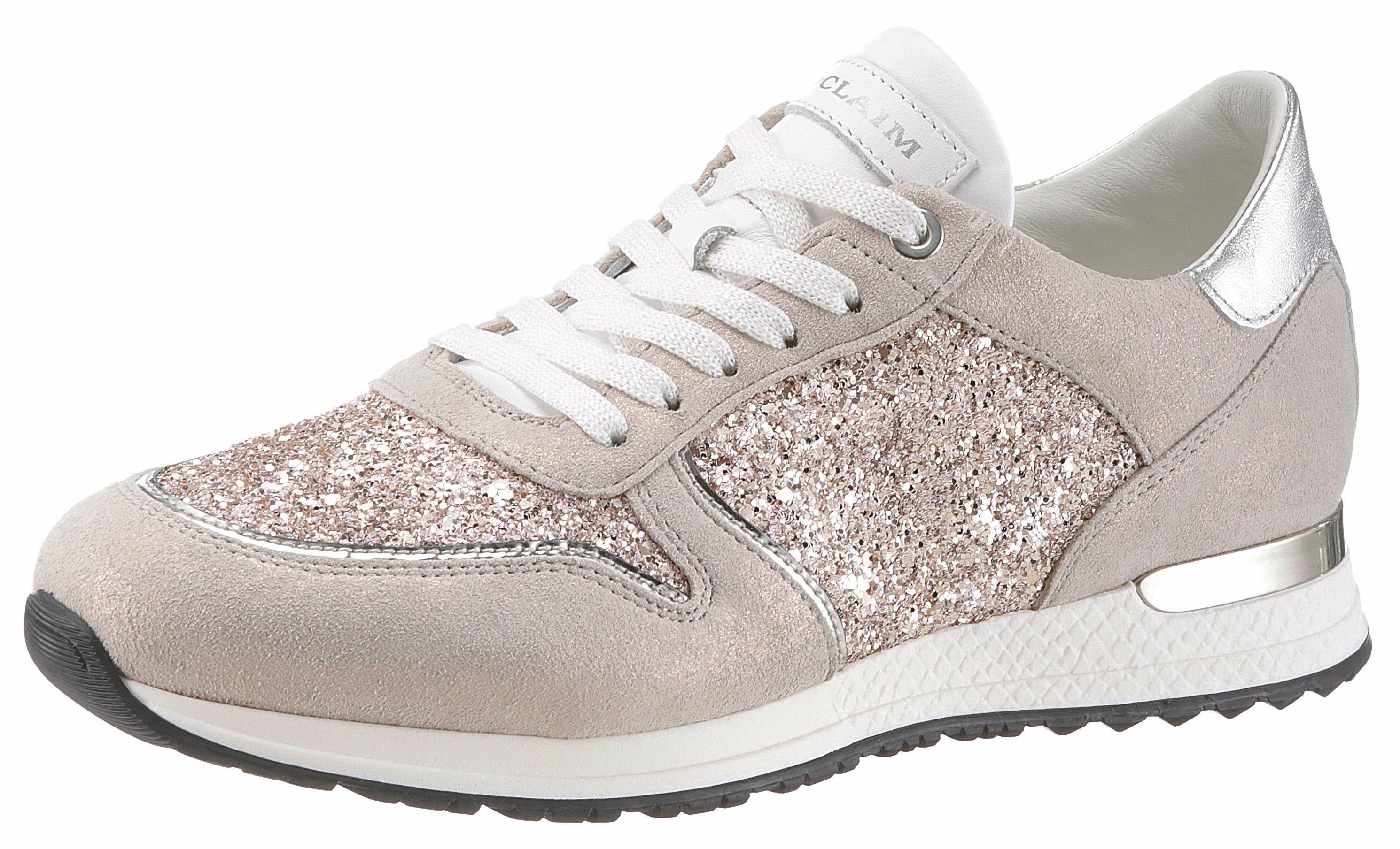 NOCLAIM Sneaker, im funkelnden Design kaufen  taupe-roségoldfarben