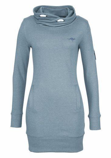 KangaROOS Longsweatshirt, mit weitem Schalkragen