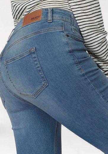 Object Stretch-Jeans Skinny Sarah, mit besonderem Schlitz am Bein