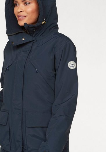 Kangaroos Parka, Breathable Material And Fashionable Contrast Details