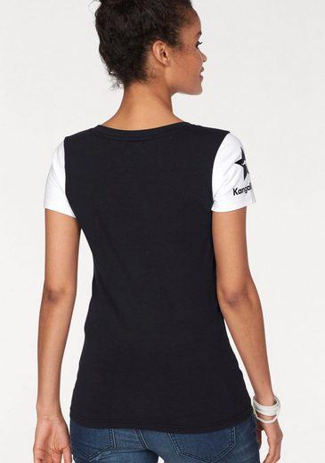 KangaROOS T-Shirt, im Monochrom-Look