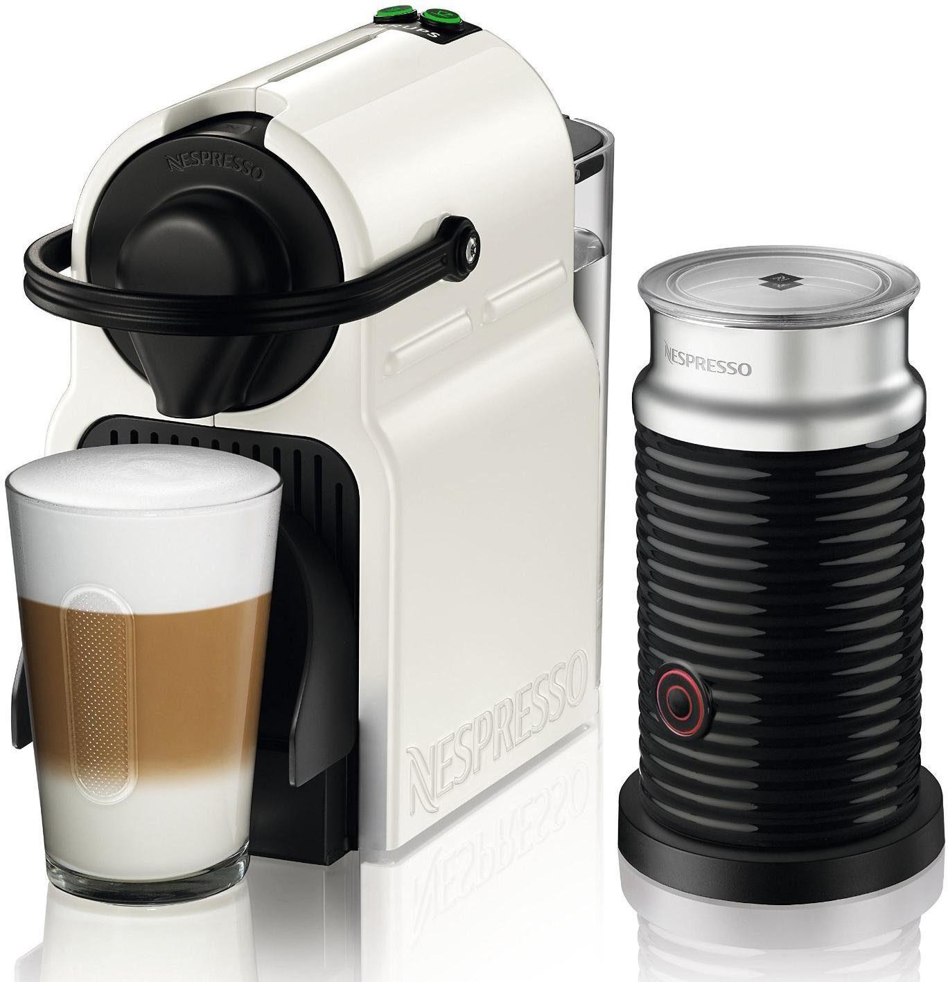 Nespresso Kapselmaschine XN1011 Inissia, White