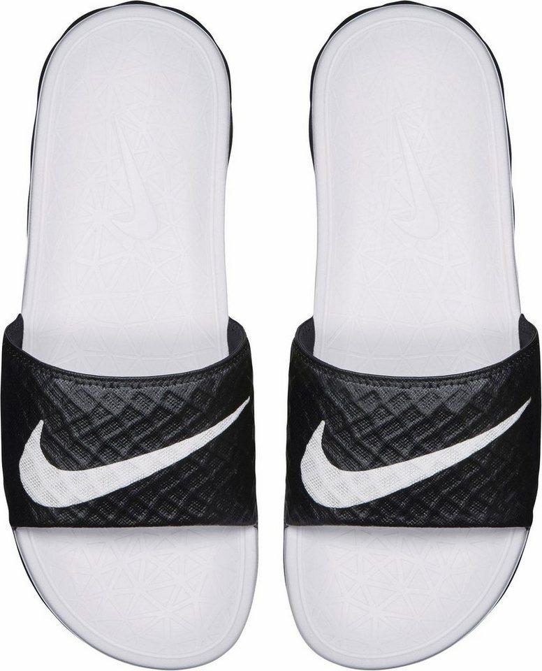 Damen Nike Sportswear »Wmns Benassi Solarsoft Slide« Badesandale schwarz | 00888408304650