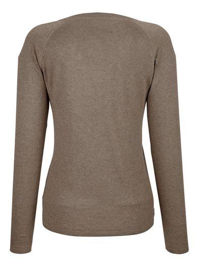 Alba Moda Pullover in hochwertiger Seidenmischung