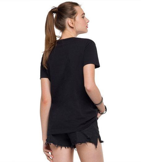 Replay T-Shirt, Kurzarm
