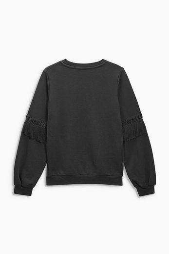 Next Pullover mit Fransen
