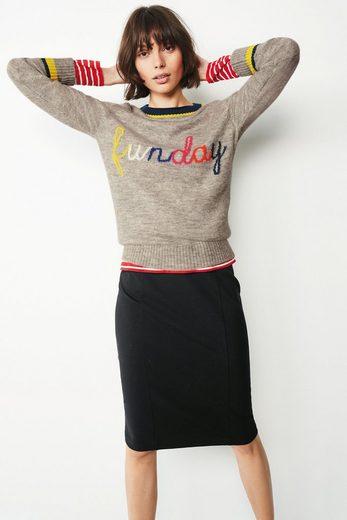 """Next Pullover mit""""Funday""""-Schriftzug"""