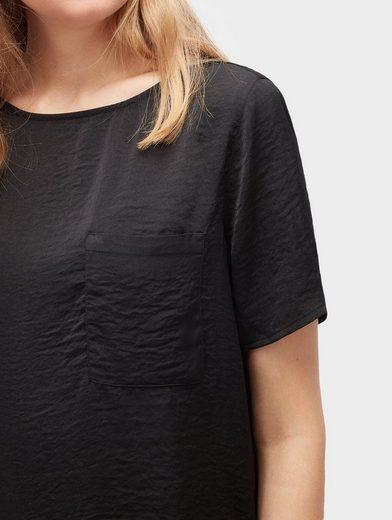 Tom Tailor Denim Langarmbluse schlichtes Shirt
