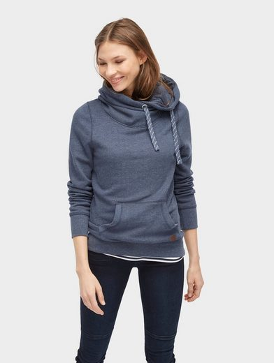 Tom Tailor Sweater Hoodie With Drawstring
