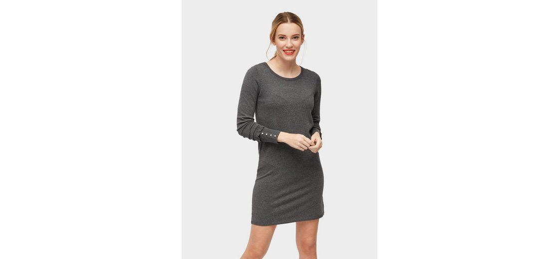 Tom Tailor A-Linien-Kleid Strickkleid mit Rippblenden Rabatt-Angebote Günstig Kaufen Niedrigsten Preis Spielraum Billig Verkauf Cstw5jDT