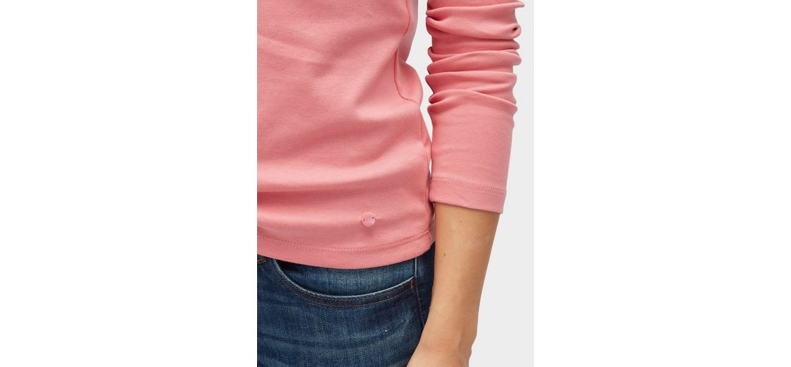 Tom Tailor Langarmshirt Basic Langarmshirt mit Stehkragen Liefern Größte Anbieter 1Sx3jLTb