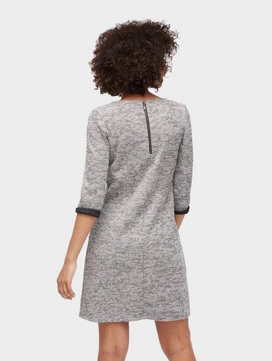 Tom Tailor A-Linien-Kleid Meliertes Kleid