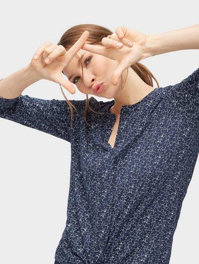 Tom Tailor Langarmshirt mit Sternen-Muster