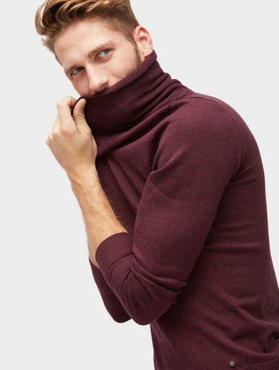 Tom Tailor Strickpullover mit Schalkragen