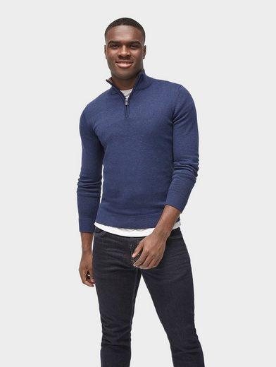 Tom Tailor Strickpullover Pullover mit Stehkragen
