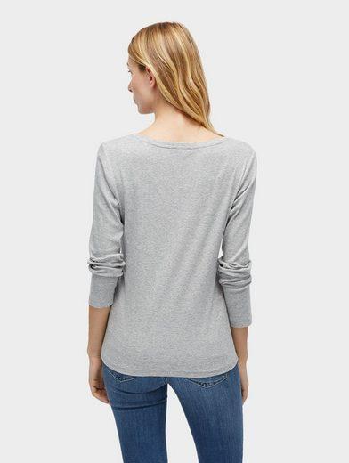 Tom Tailor Langarmshirt Basic Langarmshirt