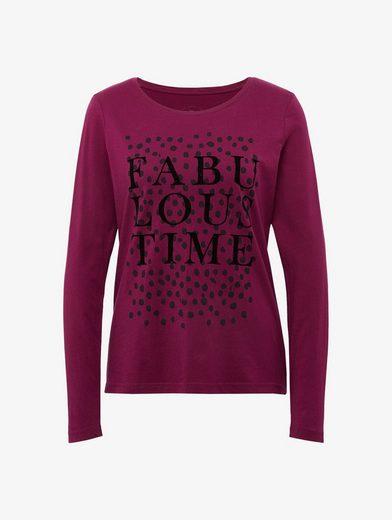 Tom Tailor Langarmshirt T-Shirt mit Print
