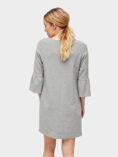 Tom Tailor A-Linien-Kleid Kleid mit Perlen-Applikation