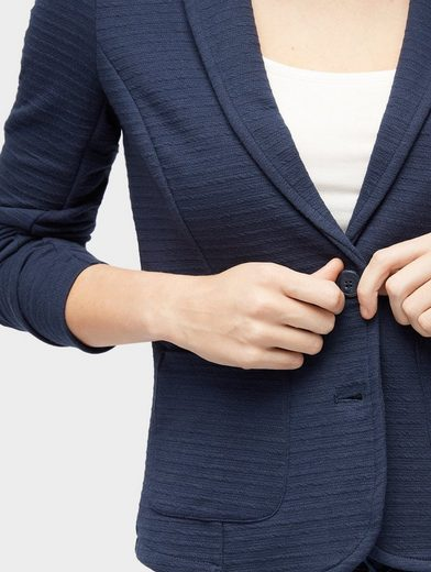 Tom Tailor Sweatblazer Blazer aus Sweat
