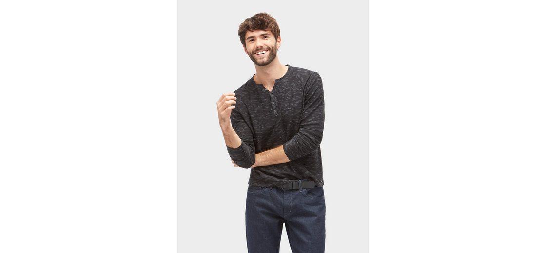 Tom Tailor Strickpullover mit kurzer Knopfleiste Rabatt Original Verkauf Komfortabel Billig Empfehlen Billig Verkauf Suchen KXxuHxaCIZ