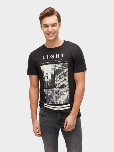 Tom Tailor Denim T-shirt Mit Foto-print