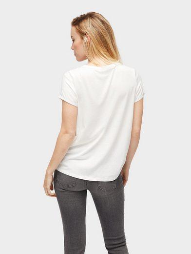 Tom Tailor T-Shirt T-Shirt im Materialmix