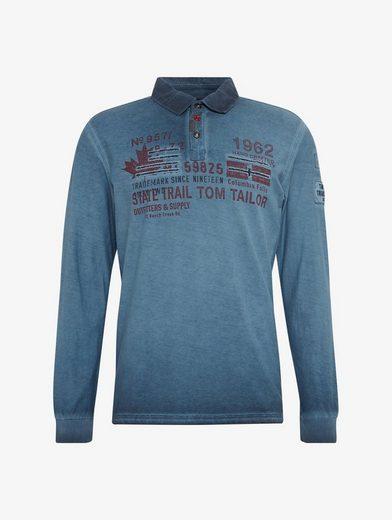 Tom Tailor Langarmshirt Pullover mit Print