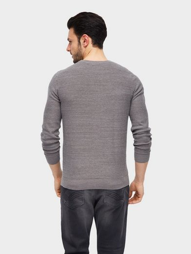 Tom Tailor Strickpullover strukturierter Pullover