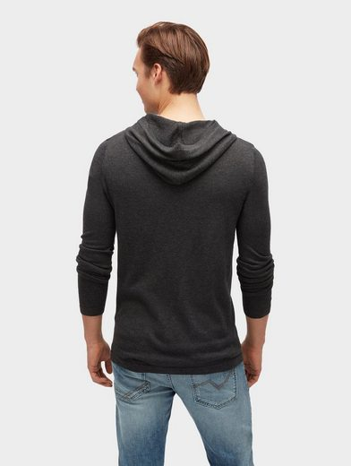 Tom Tailor Denim Kapuzenpullover Hoodie in Melange-Optik