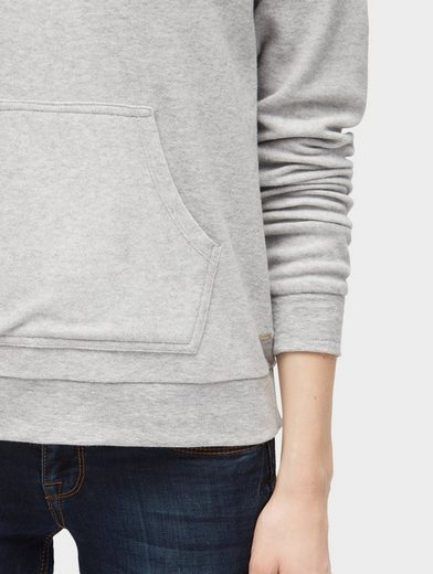 Tom Tailor Denim Hoodie Hoodie in Melange-Optik