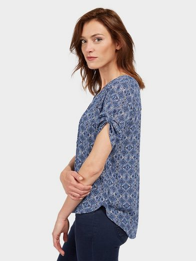 Tom Tailor Shirtbluse mit Turn-Ups