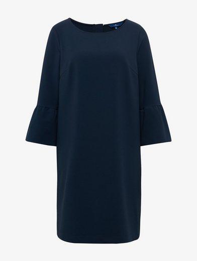 Tom Tailor A-Linien-Kleid mit Volant-Ärmeln
