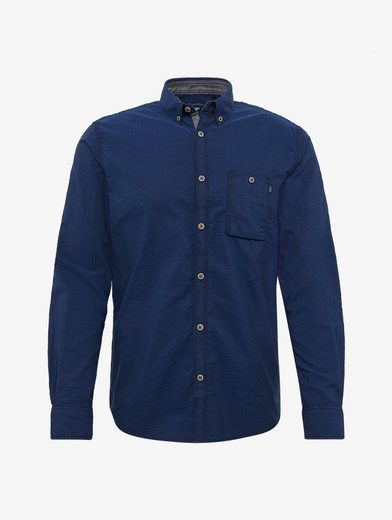 Tom Tailor Long Sleeve Shirt Patterned Shirt With Chest Pocket
