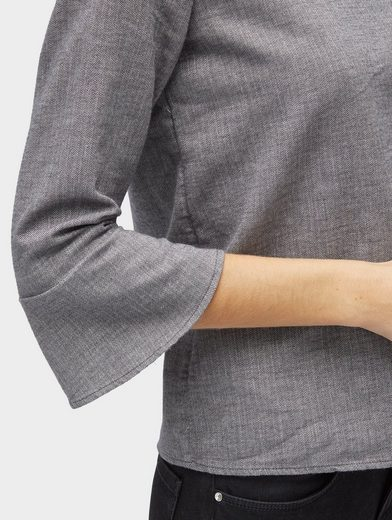 Tom Tailor Shirtbluse Bluse mit Herringbone-Muster