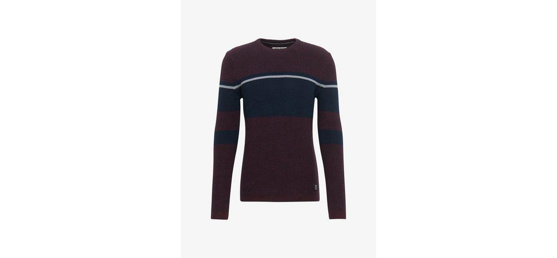 Tom Tailor Denim Rundhalspullover Pullover in Colour-Block-Optik Verkauf Neueste lpwK0