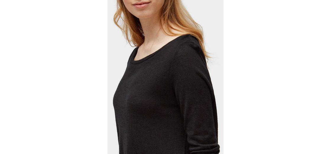 Tom Tailor Denim 3/4-Arm-Shirt mit Bindeband hinten Besuchen Online Niedriger Versand Viele Arten Von Online y4jDU