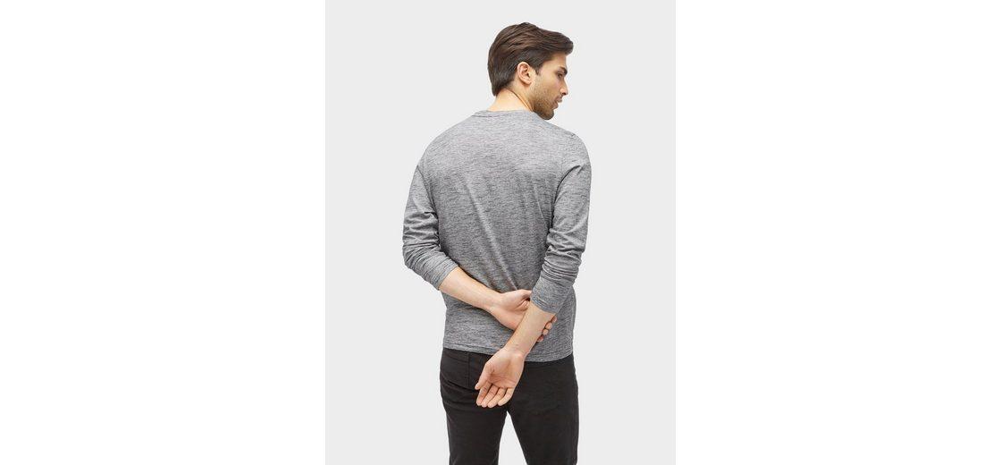 Günstige Kaufladen Tom Tailor Langarmshirt Langarmshirt mit Print Verkauf Große Überraschung bQZD9