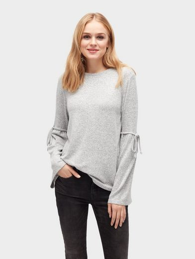 Tom Tailor Denim Sweater Sweatshirt mit Glockenärmeln