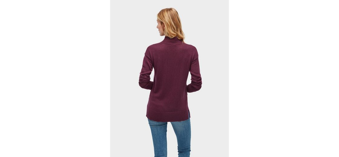 100% Original Günstig Kaufen Offizielle Seite Tom Tailor Strickpullover Pullover mit asymmetrischem Saum Großhandelspreis Zu Verkaufen HSMQMR