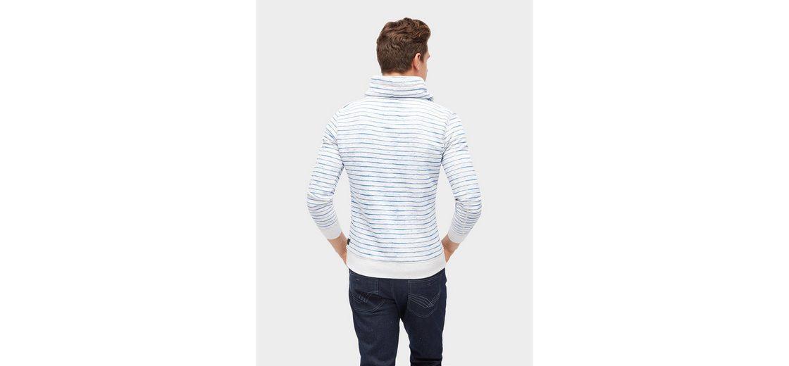 Cool In Deutschland Günstigem Preis Tom Tailor Sweater gestreiftes Sweatshirt mit Print Versand Rabatt Verkauf QCLBBMZjUv
