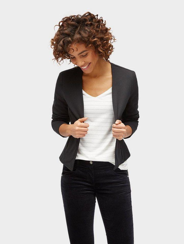 tom tailor blazer mit taschen online kaufen otto. Black Bedroom Furniture Sets. Home Design Ideas