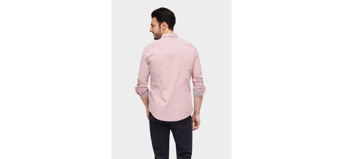 Tom Tailor Langarmhemd schlichtes Hemd Vorbestellung Online MMElihj