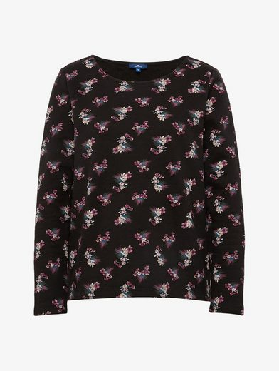 Tom Tailor Sweater Sweatshirt Mit Floralem Muster