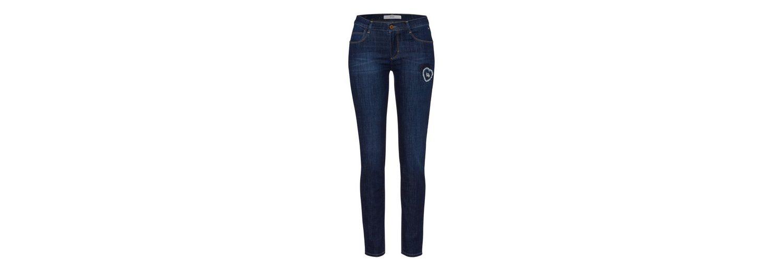 Verkauf Mit Paypal BRAX Maya - Damenjeans Moderne Skinny-Jeans mit trendigen Patches Besuch Rabatt Suche Kosten Online yOlAugy