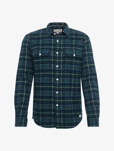Tom Tailor Denim Shirt Plaid Shirt With Breast Pockets