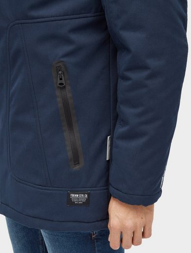 Tom Tailor Denim Softshelljacke Parka aus Softshell