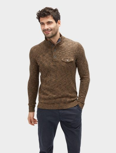 Tom Tailor Strickpullover Pullover in Melange-Optik