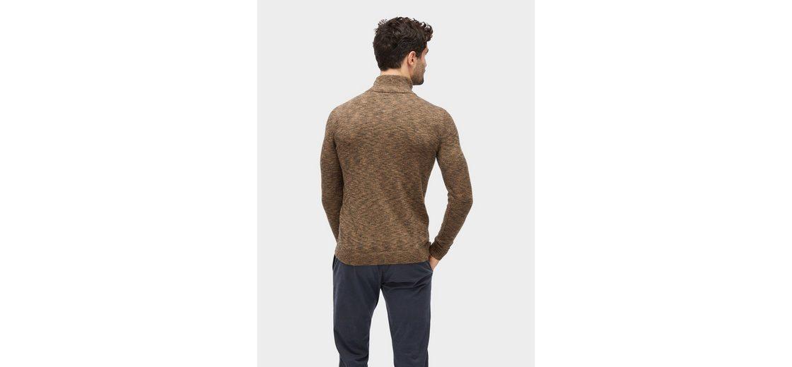 Tom Tailor Strickpullover Pullover in Melange-Optik Freies Verschiffen Manchester Großer Verkauf Freies Verschiffen Fälschung Limited Edition Günstig Online 3TdDo